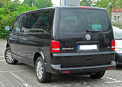 VW Transporter T5 facelift