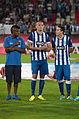 Valais Cup 2013 - OM-FC Porto 13-07-2013 - Kelvin, Maicon et Herrera.jpg