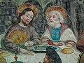 Valdaora di Mezzo-Mitterolang, San Egidio, frescos last supper 003.JPG