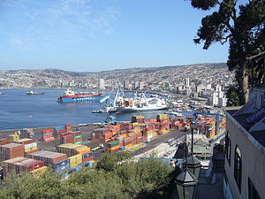 Port of Valparaiso (Chile)