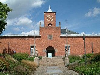 Van Abbemuseum - Image: Van Abbe hoofdingang
