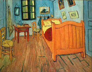 Starving artist - Image: Van Gogh Bedroom Arles 1