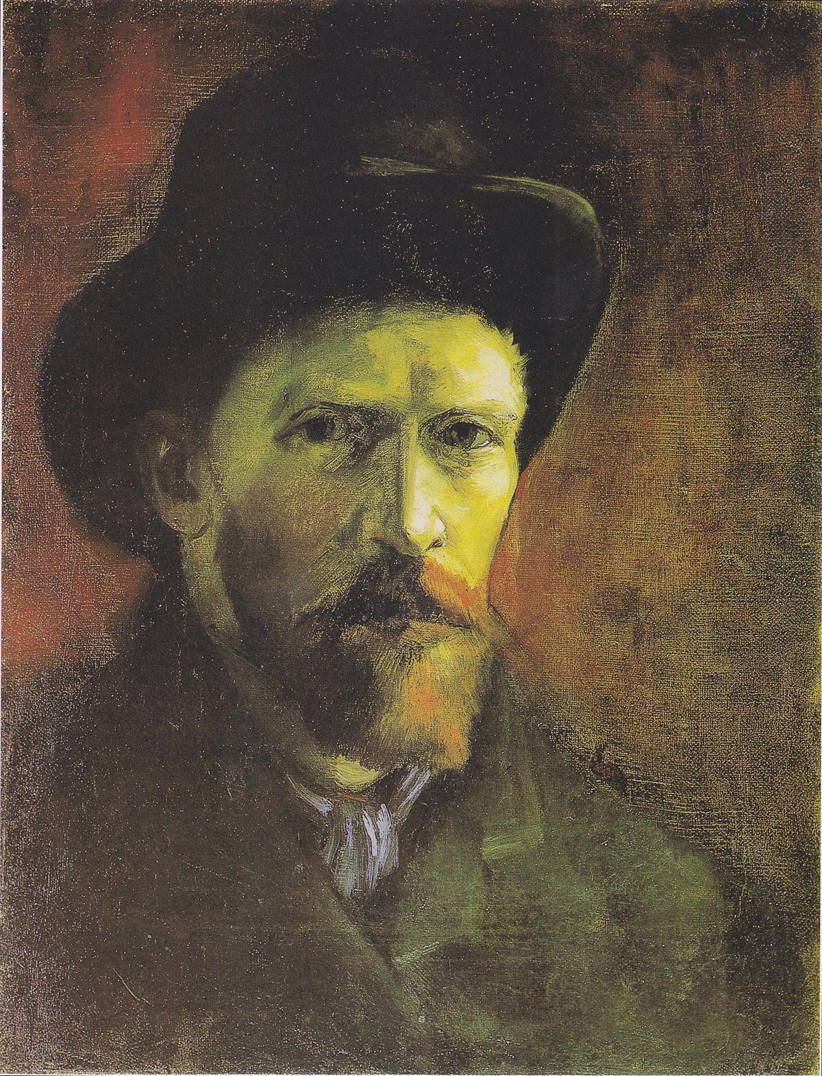 Liste Der Selbstbildnisse Vincent Van Goghs Wikipedia
