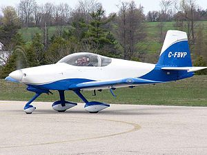 Vans Aircraft on Van S Aircraft Rv 9   Wikipedia  The Free Encyclopedia
