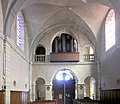 Vauvillers (Haute-Saône), Orgue d'église de la Nativité de Notre-Dame.jpg