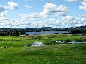 Veckefjärdens Golf Club in Örnsköldsvik, Sweden