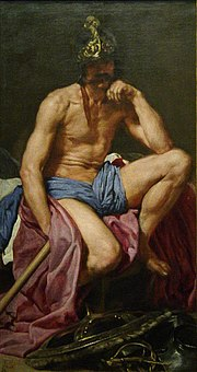 Mars, painting by Diego Velazquez