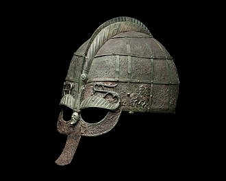 Sweden - A Vendel-era helmet, at the Swedish Museum of National Antiquities