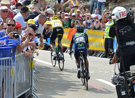 Froome beat Nairo Quintana to win stage 15 of the 2013 Tour de France. 7541c9bd1