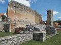 Veszprém 2016, Margit-ruins, cross.jpg