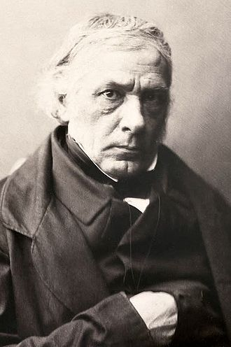 Victor Cousin - Le Gray's 1850s Albumen print of Victor Cousin.