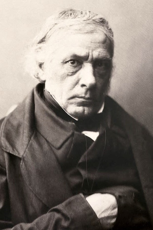 Victor Cousin by Gustave Le Gray, late 1850s-crop