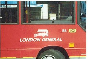 London General - The original logo