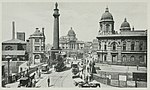 Victoria square, Dock offices, Whitefriargate bridge and Wilberforce monument, Hull.jpg
