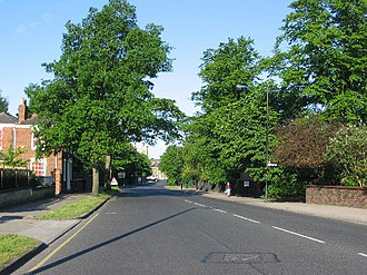 Heworth, York - View down Heworth Green towards York