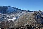 View from north towards Snøhetta mountain peak in Dovrefjell National Park, Norway.jpg