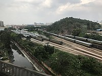 View from train for Shenzhen North Station near Guangzhou North Station.jpg