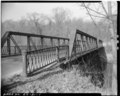 View north, west end - Albion Bridge, School Street, Spanning Blackstone River, Cumberland, Providence County, RI HAER RI,4-CUMB,4-1.tif