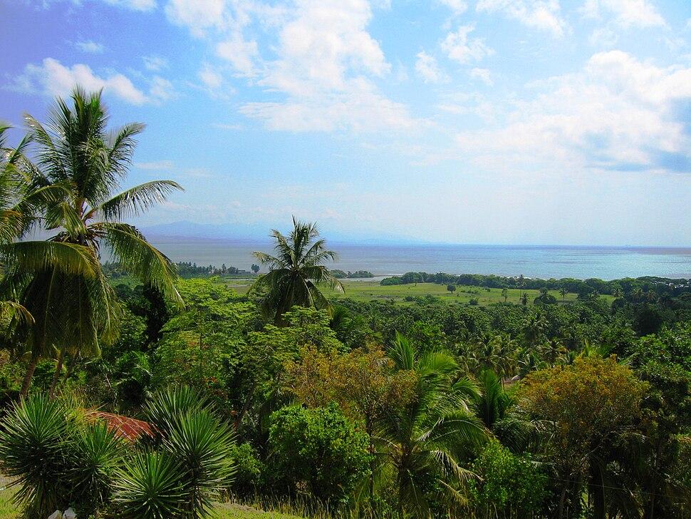 View of Haitian Landscape hispaniola