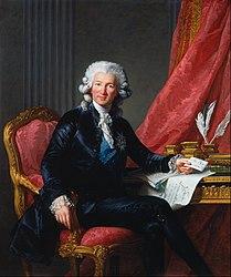 Elisabetha Vigée-Lebrun: Charles-Alexandre de Calonne (1734-1802)