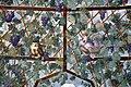 Villa giulia, portici con affreschi di pietro venale e altri, pergolato 57 civetta e gallo.jpg