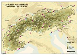 alpok domborzati térkép Alpok – Wikipédia alpok domborzati térkép