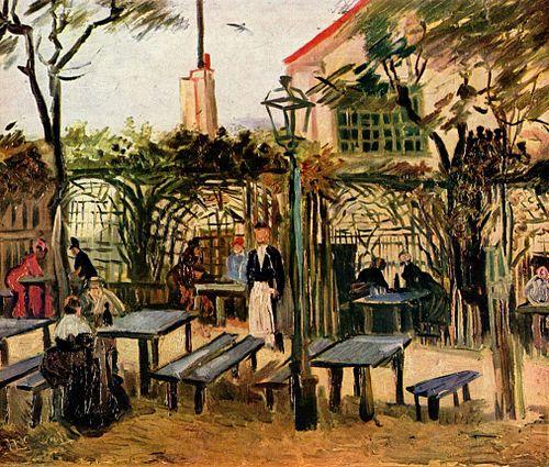 La Guinguette, Vincent van Gogh.