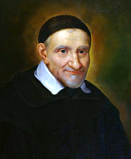 Vincent de Paul 17th-century French priest, founder and saint