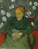 Vincent van Gogh - La berceuse (Portret van Madame Roulin) - Google Art Project.jpg