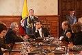 Visita de Secretario Adjunto de Estado para el Hemisferio Occidental de Estados Unidos, Arturo Valenzuela al Presidente, Rafael Correa (4497105359).jpg