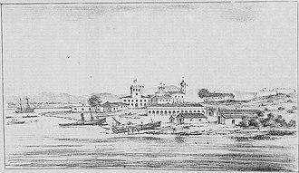 Asunción - View of the city of Asunción during the Paraguayan War.