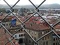 Vistas de Vitoria-Gasteiz desde la catedral Santa María, la Catedral Vieja.jpg