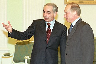 Giuliano Amato - Amato with Vladimir Putin in Rome, 2001
