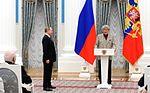 Vladimir Putin at award ceremonies (2016-03-25) 08.jpg