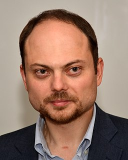 Vladimir Vladimirovich Kara-Murza Russian politician and journalist