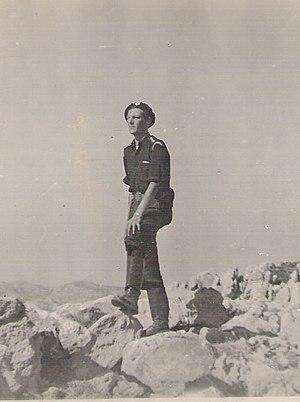 Cretan resistance - W. Stanley Moss in Crete.