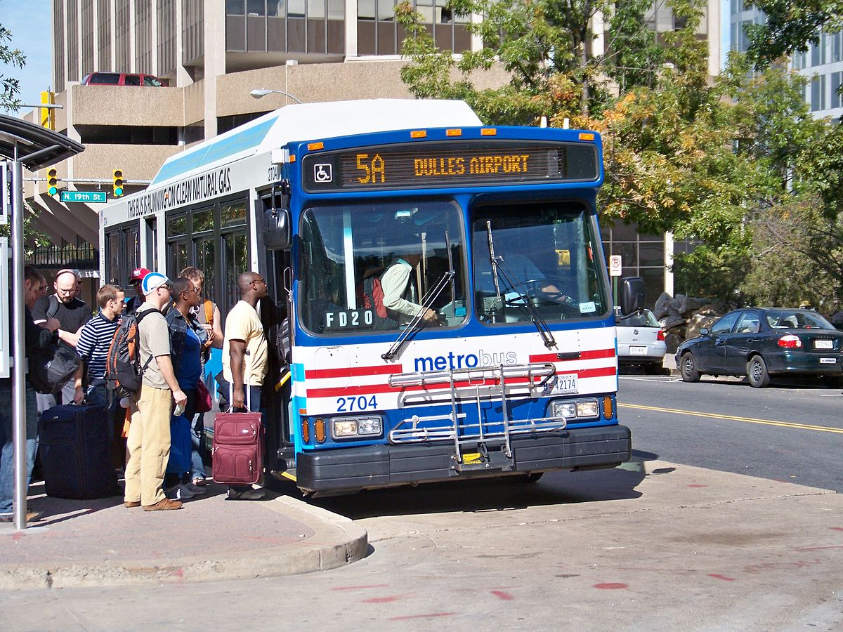List Of Metrobus Routes Washington D C Wikipedia