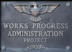 "English: ""Works Progress Administration P..."
