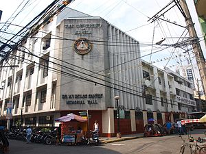 University of Manila - M.V. De los Santos Hall of the university