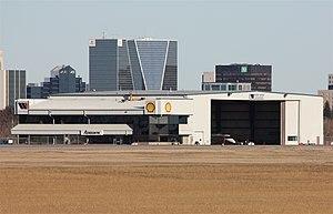 West Wind Aviation - West Wind hangar in Regina