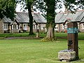 Waddinton Almshouses - the pump - geograph.org.uk - 54077.jpg