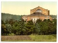 Wagner's theater (i.e. Festspielhaus), Bayreuth, Bavaria, Germany-LCCN2002696128.tif