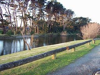 Otaihanga human settlement in New Zealand