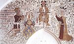 Waldemar IV Otherday of Denmark, Jesus of Nazareth & Haelwig of Denmark c 1375.jpg