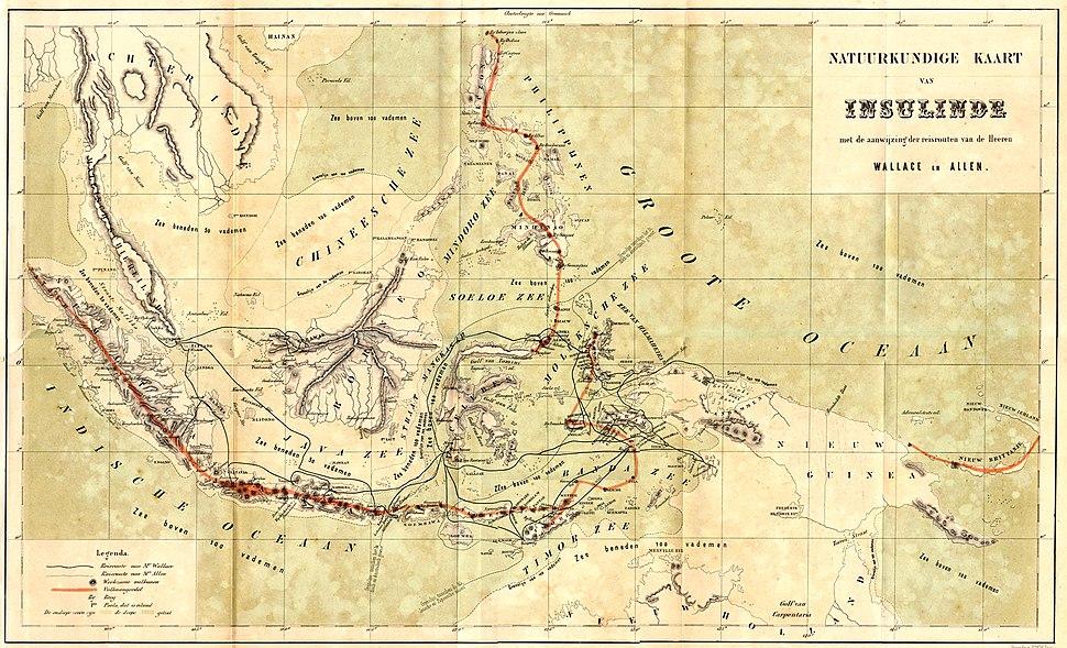 Wallace map archipelago