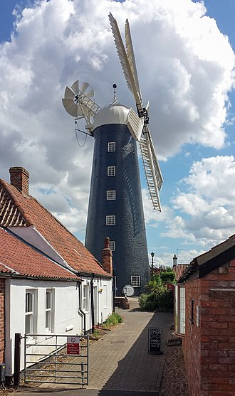 Waltham Windmill - The windmill in 2013