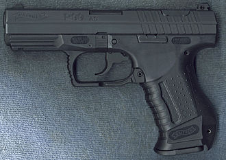Walther P99 - Image: Walther P99 Left