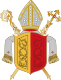 Coat of arms of the Diocese of Hildesheim.png