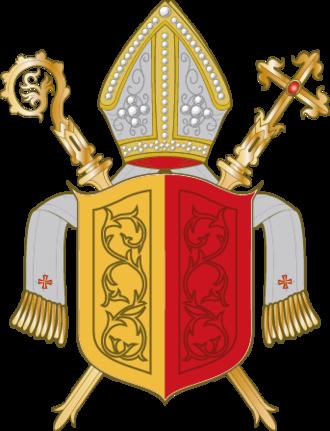 Bishopric of Hildesheim - Image: Wappen Bistum Hildesheim