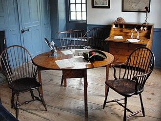 Dey Mansion - Image: War Room